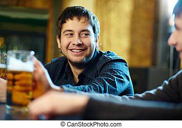 Cerveja, homem