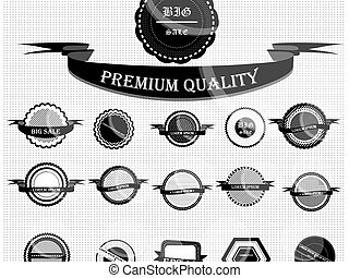 Vintage Styled Premium Quality. Label collection