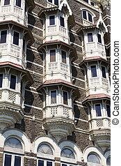 luxury historic hotel Taj Mahal Palace in Mumbai ( formerly Bombay ), India, Asia