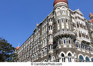 luxury historic hotel Taj Mahal Palace in Mumbai formerly...