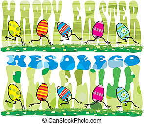 happy easter - easter sunday