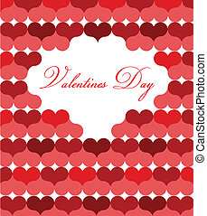 card template for valentine day