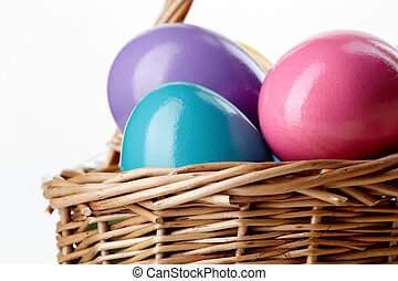 バスケット, 卵