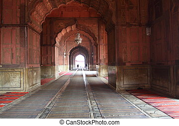 Jama Masjid, Delhi, India