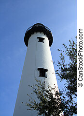 Lighthouse on St Simons Island