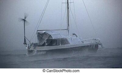 Cold boat