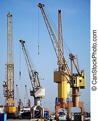Port Cranes 1