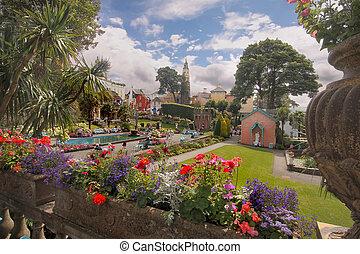 Portmeirion in Wales - Portmeirion is a village in Gwynedd...