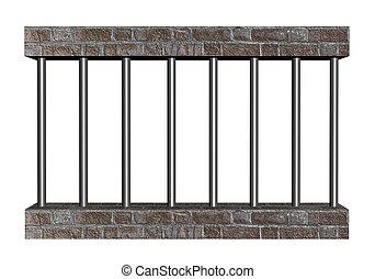 prisão, barras