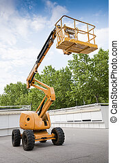 Boom Lift - Diesel Powered Articulating Boom Lift