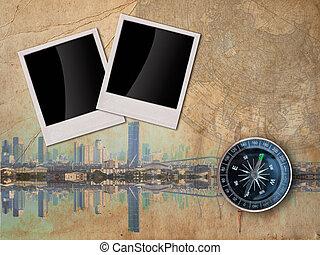 City Travle concept background - City Travel concept...