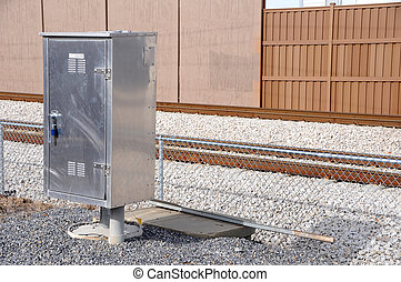 Electrical Control Box for Commuter Train Road Crossing Arms...