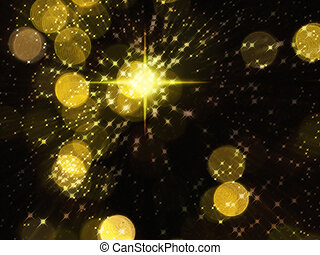 Yellow Bright star