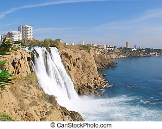 Waterfall Duden at Antalya