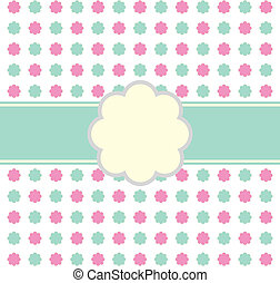 Floral Invitation Pattern