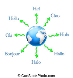 Hello - Hello in different languages