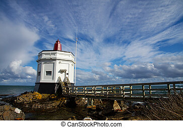 Stirling Point Lighthouse, Bluff - The Lighthouse at...