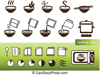 Cooking signs