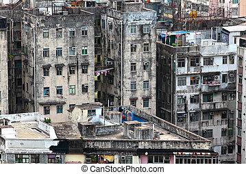 Hong Kong old building