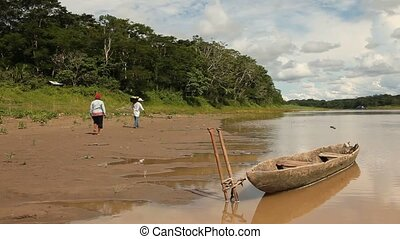 People At Amazon River