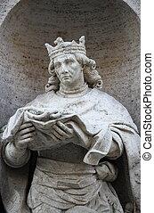 Louis, estatua, Santo