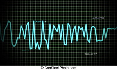 audio wave line maths - audio wave line background