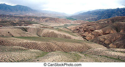 Geological formations in Kyrgyz - Interesting geological...