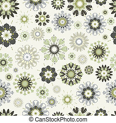 flower seamless vector pattern. The .eps includes seamless...