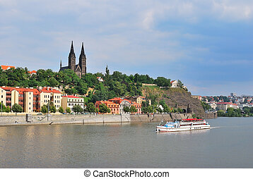 Prague, Vysehrad - Vysehrad, the most ancient place in...