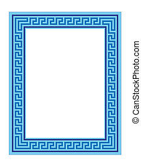graphic frame or border