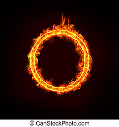 fire ring for concepts - jumping over the fire ring, for...