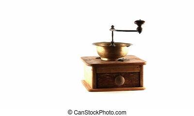 loop rotating coffee grinder