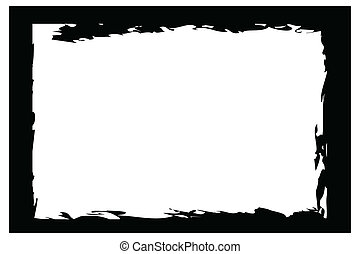 grunger frames, borders - grunge borders, frames, for image...