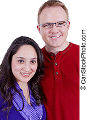 Mexican American Couple - Beautiful Mexican wife and her...