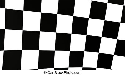 checkered flag B - checkered flag animation