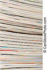 Stack of papers and reports as a background image