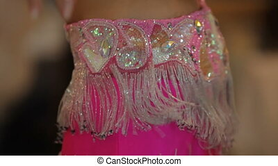Belly dance HD - Beauty girl is showing a belly dance. Close...