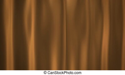 Champagne Gold curtains - curtains opening for celebration