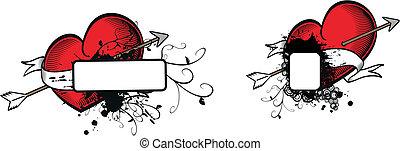 heraldic heart arrow crest6 - heraldic heart arrow crest...