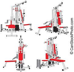 Fitness Home Simulator Gym