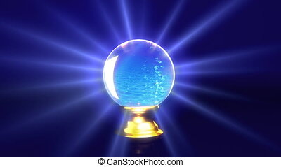 crystal ball future water