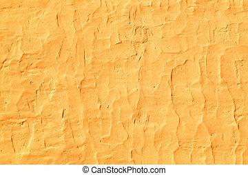 Grunge texture of orange cement wall