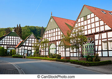 Houses in village of Germany