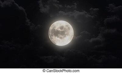 silent moon - clear moon animation
