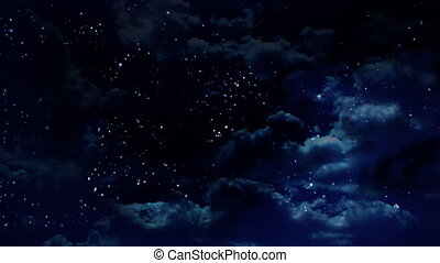 night - the night sky animation the best way for any video...