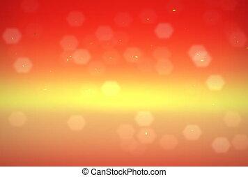 gold background ntsc - orange flare motion graphic...