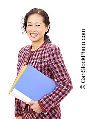 Asian business woman - Portrait of a asian business woman...