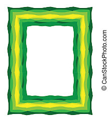 graphic photo frame or border