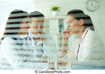 Medical consultation - Portrait of confident practitioners...
