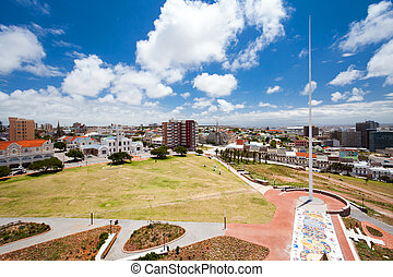 cityscape of PE, South Africa